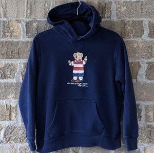 Polo Ralph Lauren Polo Teddy Bear Hoodie Navy Blue